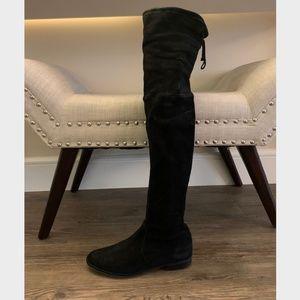 Stuart Weitzman Lilene Over-the-Kneee Suade Boots